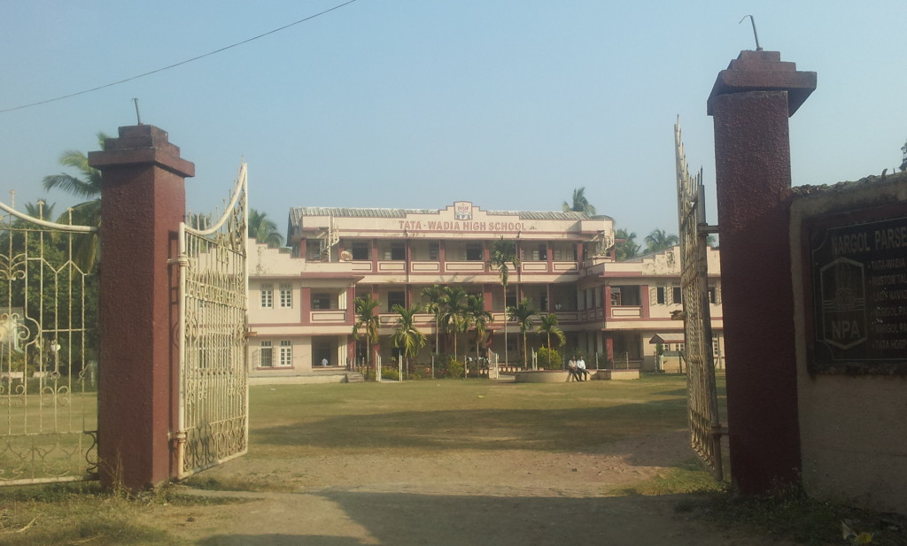 Tata Wadia High School at Nargol