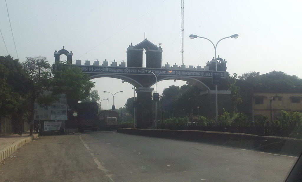 Welcome Arch of Dadra & Nagar Haveli