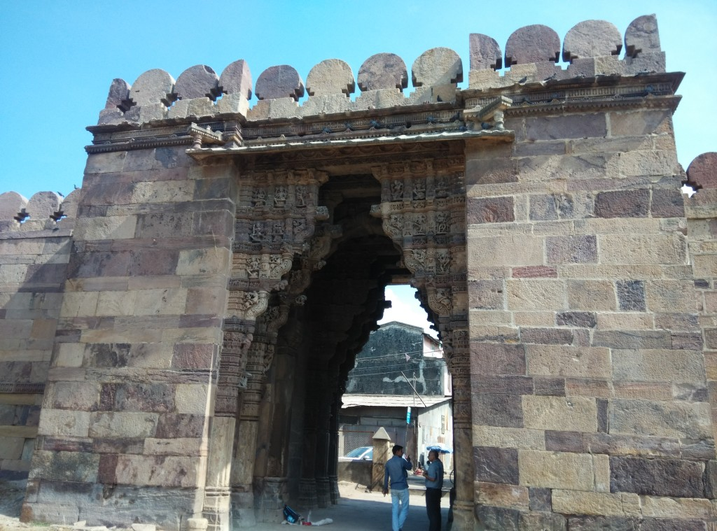 Western gate of Dabhoi Fort, Gujarat