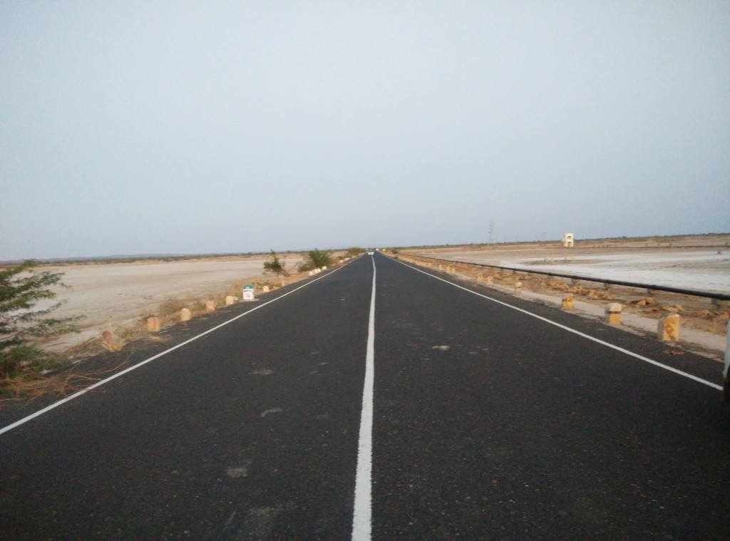 On the way to Dholavira