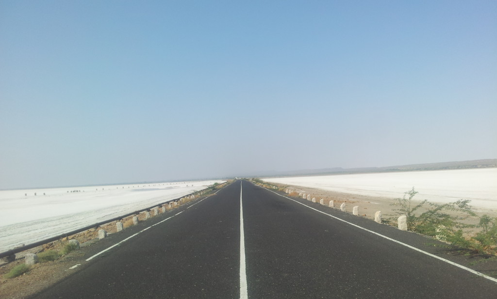 On the way back from Dholavira