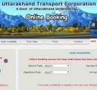 uttarakhand bus ticket booking