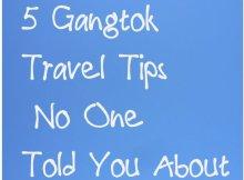 gangtok travel tips