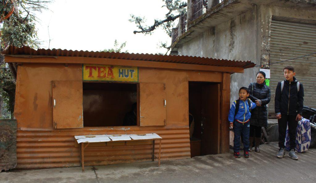 A tea shop at McLeod Ganj